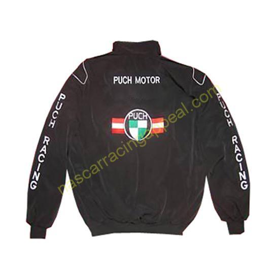 Puch Racing Jacket Black
