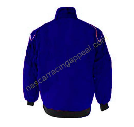 Royal Blue Racing Jacket