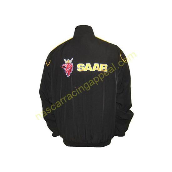 Saab Black Racing Jacket Coat