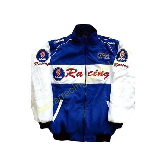 Saab Racing Blue & White Jacket