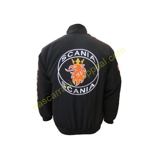 Saab Scania Jacket Black
