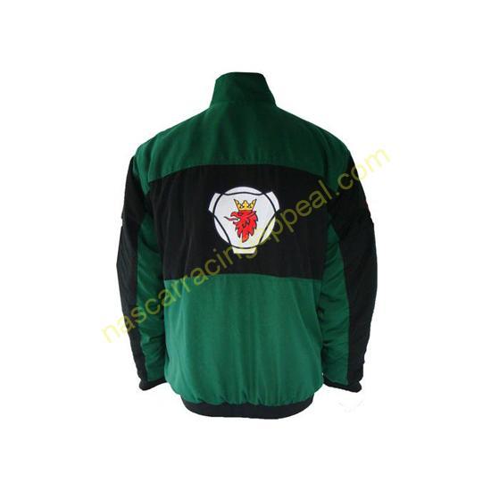Scania Black & Green Racing Jacket