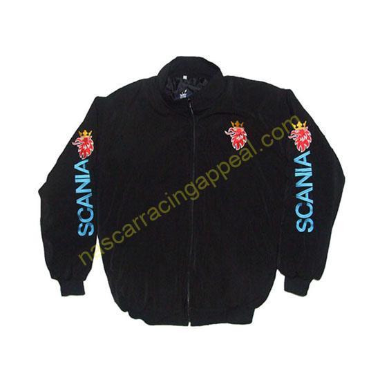 Scania Racing Jacket Black