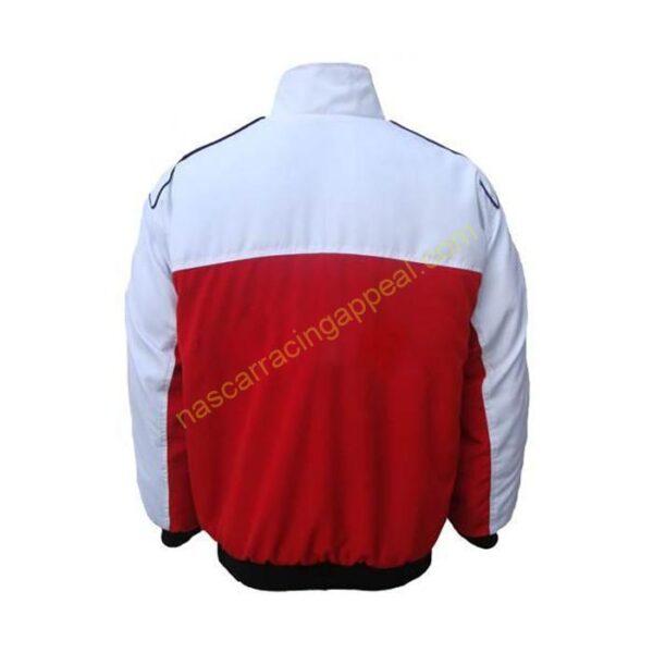 Yamaha Racing Jacket White and Red