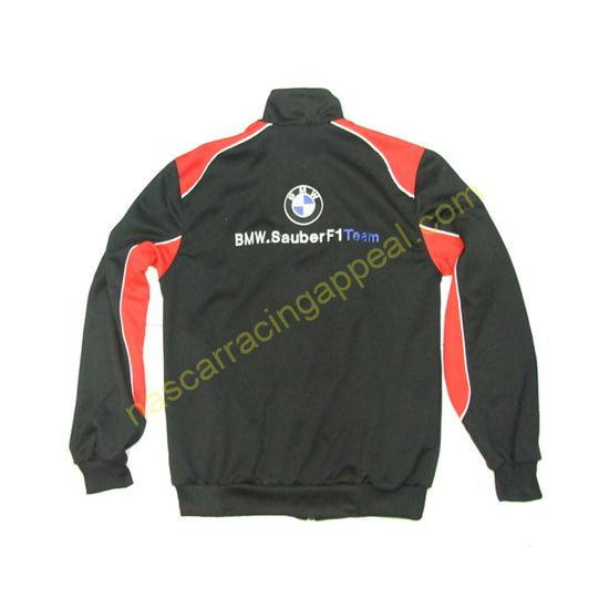 BMW Petronas Intel Black with Red front Jacket