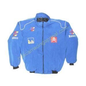 Citroen Racing Jacket Coat Blue