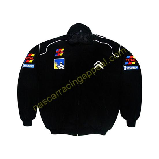 Citroen Sport Racing Jacket Black New
