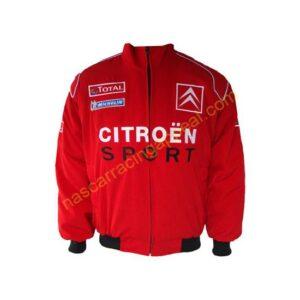 Citroen Racing Jacket Coat Red