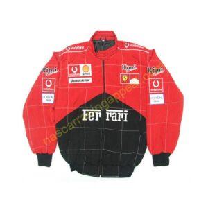 Ferrari Kimi Racing Red & Black Jacket