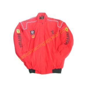 Ferrari all Red Jacket New