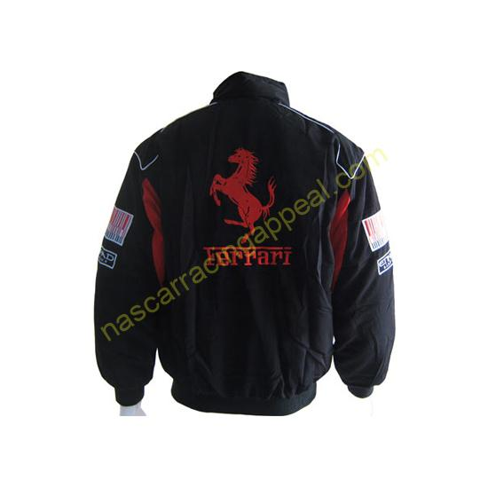 Ferrari Santander F1 Jacket Black