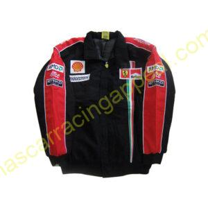 Ferrari Racing Team Jacket Red and Black