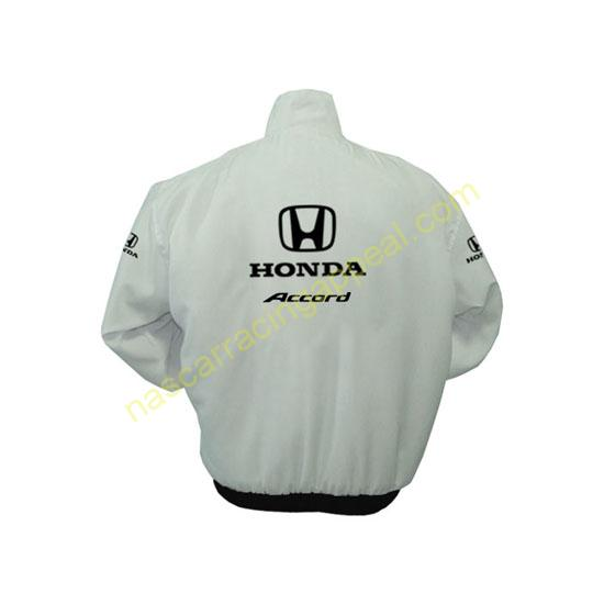 Honda Accord White Jacket