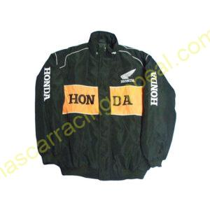 Honda Orange Black Jacket