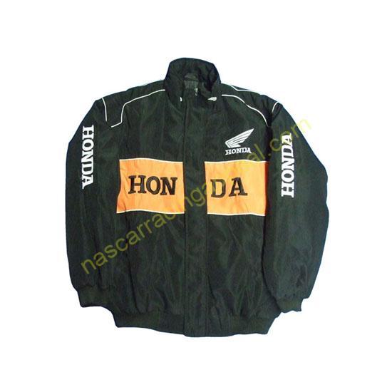 Honda Orange Black Jacket