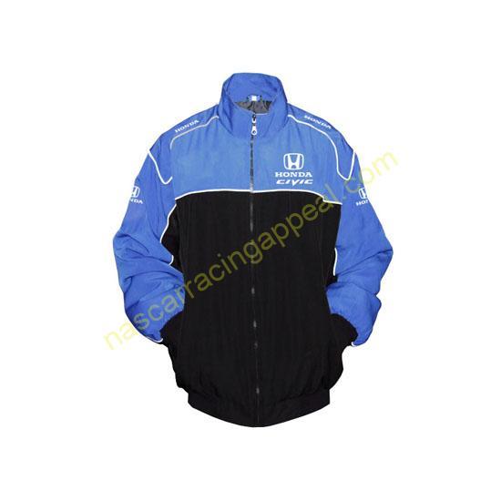 Honda Civic Blue & Black Jacket