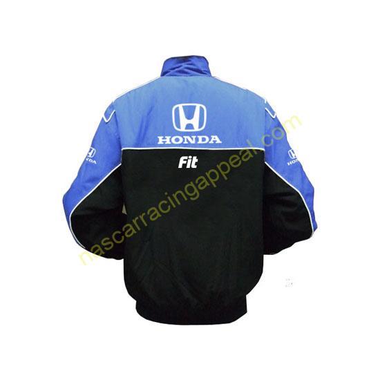 Honda FIT Blue & Black Jacket