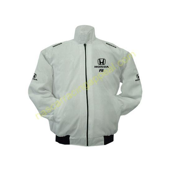 Honda Fit White Jacket