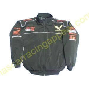 Honda Goldwing Black Jacket New