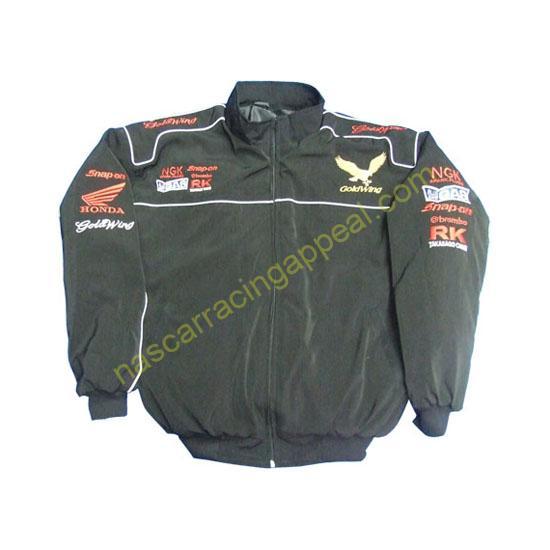 Honda Goldwing Black Jacket New