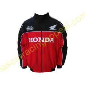 Honda Racing Jacket Black and Red