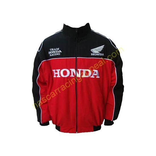 Honda Racing Jacket Black and Red
