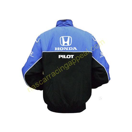 Honda Pilot Blue & Black Jacket