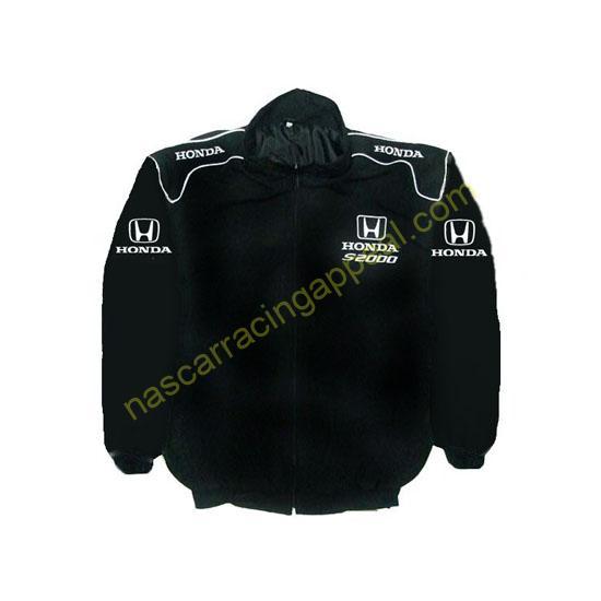 Honda S2000 Racing Jacket Black