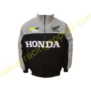 Honda VFR 800 Racing Jacket Light Gray and Black
