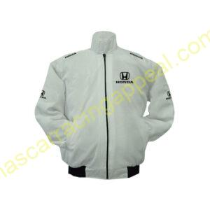 Honda White Jacket