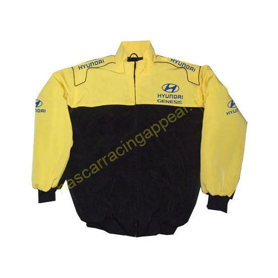 Hyundai Genesis Racing Jacket Yellow and Black