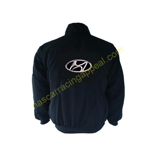 Hyundai Racing Jacket Coat Black