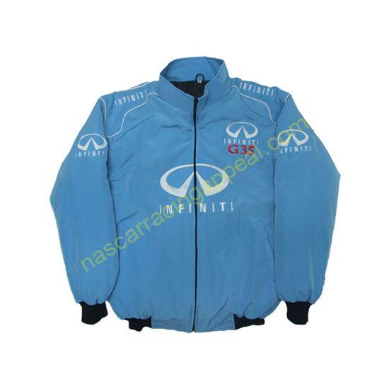 Infiniti G35 Racing Jacket Light Blue