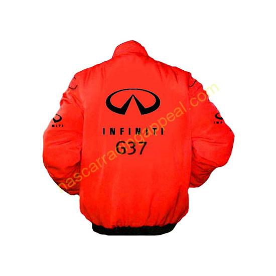Infiniti G37 Red Racing Jacket
