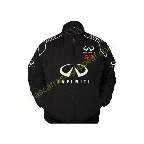 Infiniti G47 Black Racing Jacket