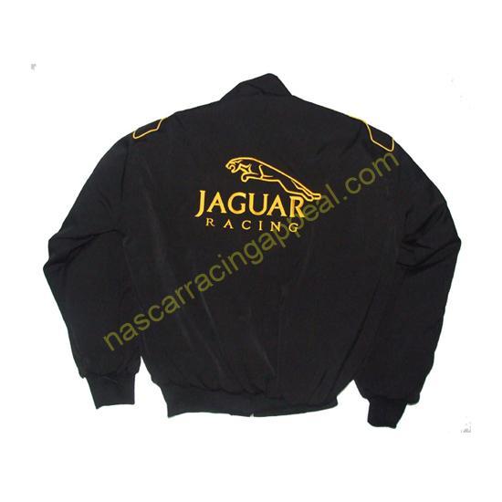 Jaguar Lear Black Racing Jacket
