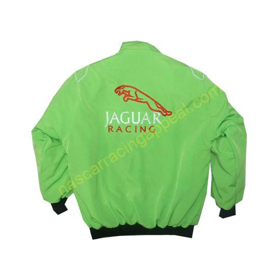 Jaguar Light Green Racing Jacket