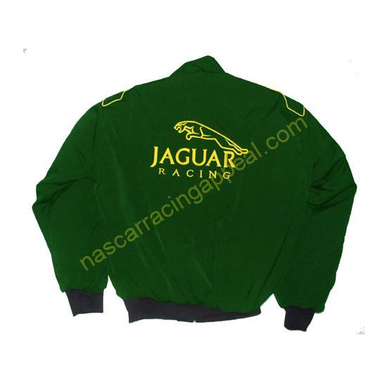 Jaguar Lear Racing Jacket Dark Green Draft