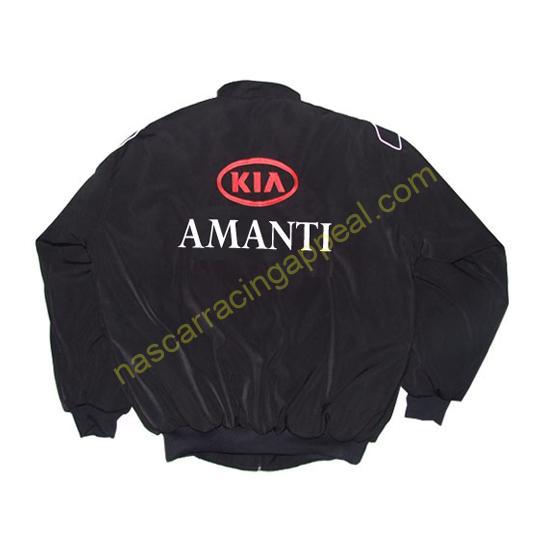 KIA Amanti Racing Jacket Black