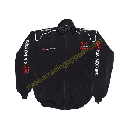 KIA Motors Racing Jacket Coat Black