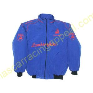Lamborghini Racing Jacket Royal Blue