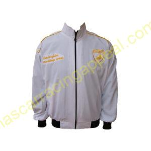 Lamborghini Racing Jacket White