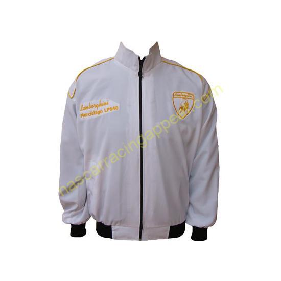 Lamborghini Racing Jacket White