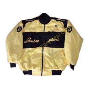 Lamborghini Racing Jacket Yellow and Black