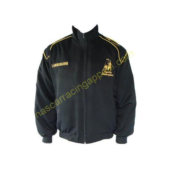 Lamborghini Racing Jacket Black