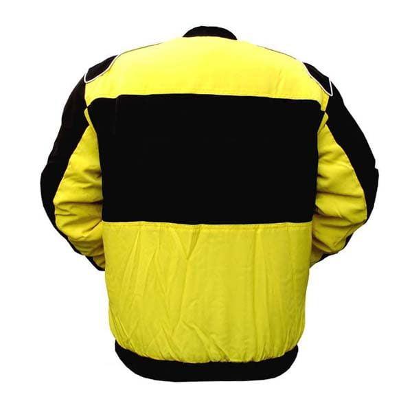 Plain Jacket Yellow and Black