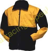 Plain Jacket Yellow Orange and Black
