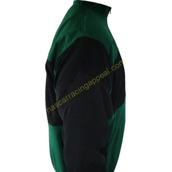 Plain Jacket Green and Black