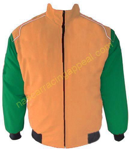 Plain Jacket Tan and Hunter Green