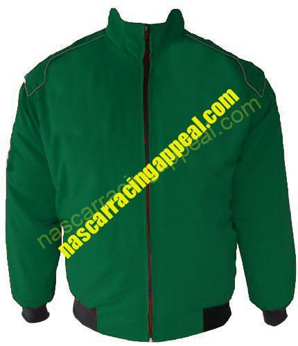 Plain Blank Hunter Green Jacket